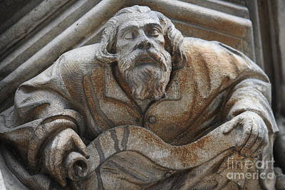 Photograph - Medieval Gargoyle by Mary-Lee Sanders