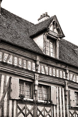 Medieval House Art Print by Olivier Le Queinec
