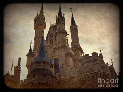 Haunted Castle Painting - Medieval  by John Malone
