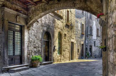 Old Door Photograph - Medieval by Leonardo Marangi