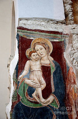 Photograph - Medieval Madonna by Brenda Kean