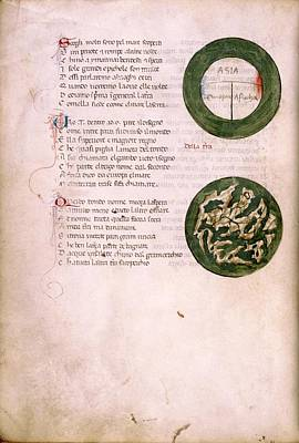 Medieval Maps Art Print