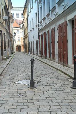 Photograph - Medieval Street In Bratislava by Caroline Stella