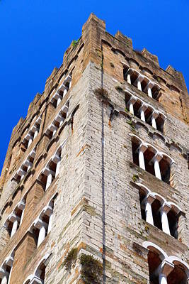Photograph - Medieval Tower by Valentino Visentini