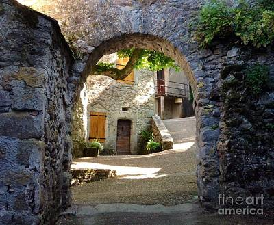 Cathar Country Photograph - Entre by France  Art