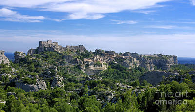 Medieval Village Of Les Baux De-provence. Alpilles. France Art Print