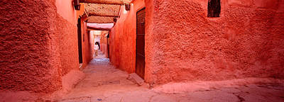 Marrakesh Photograph - Medina Old Town, Marrakech, Morocco by Panoramic Images