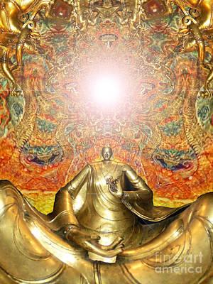Digital Art - Meditate by Aeres Vistaas