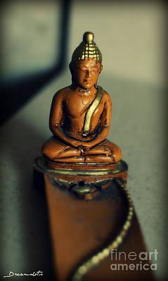 Meditating Print by Janette  Degrasse