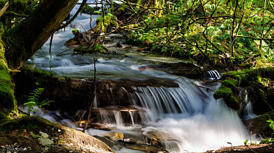 Meditation - Bridal Veil Falls Art Print