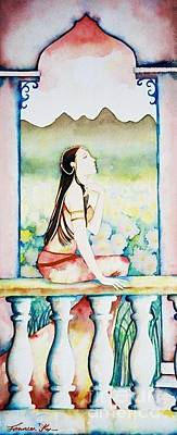 Painting - Meditation by Frances Ku