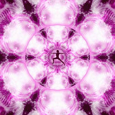 Digital Art - Meditation Galaxy 4 by Derek Gedney