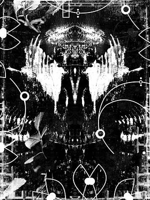 Spiritual Art Digital Art - Meditation by Modern Art Prints