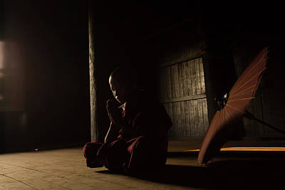Buddhist Monks Photograph - Meditation by Gunarto Song