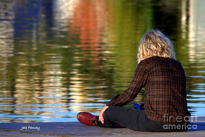 Photograph - Meditating In Huntsville by Jale Fancey