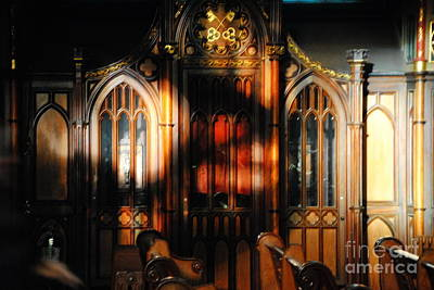 Photograph -  Notre Dame Basilica Montreal by Jacqueline M Lewis