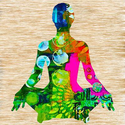 Meditation Art Print by Marvin Blaine