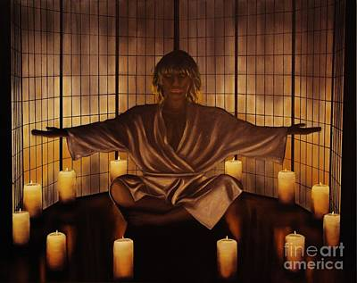 Meditation Art Print by Wayne Cantrell