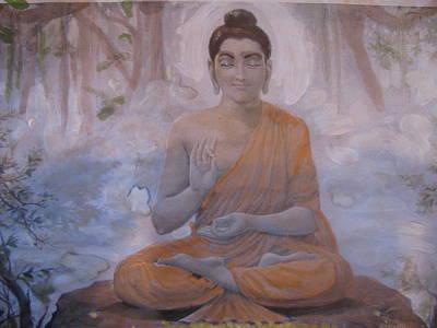 Painting - Meditational Peace by Vikram Singh
