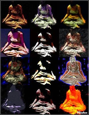 Meditative Photograph - Meditative State by Carmen Cordova