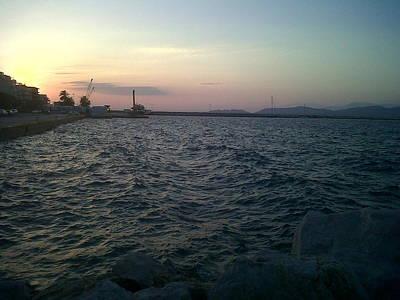 Mediteranean Sunset Art Print