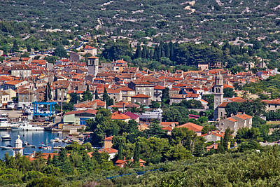 Photograph - Mediterannean Town Of Cres Croatia by Brch Photography