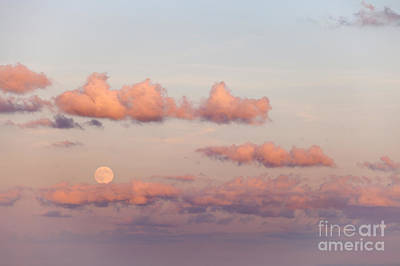 Photograph - Mediterranean Moonrise by Paul Cowan