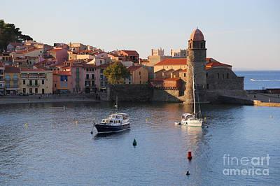 Photograph - Mediterranean Port - Collioure by Carol Groenen