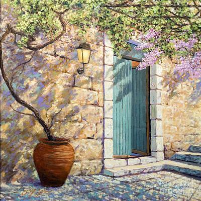 Painting - Mediterranean Scent by Miki Karni