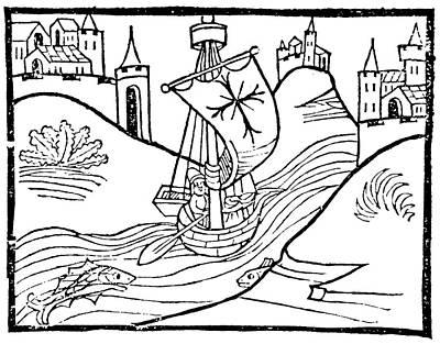 Painting - Mediterranean Sea, 1483 by Granger
