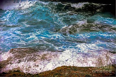 Mediterranean Sea Art Print