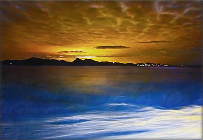 Photograph - Mediterranean Sunrise by Hanny Heim