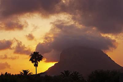 Denia Photograph - Mediterranean Sunset by Peter Matthews