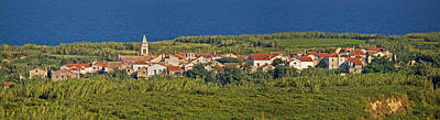 Photograph - Mediterranean Village On Island Of Susak Croatia by Brch Photography