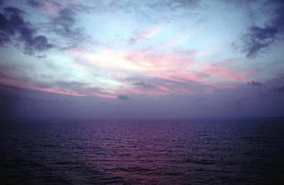 Mediterranen Sunset Art Print by Tom Wurl