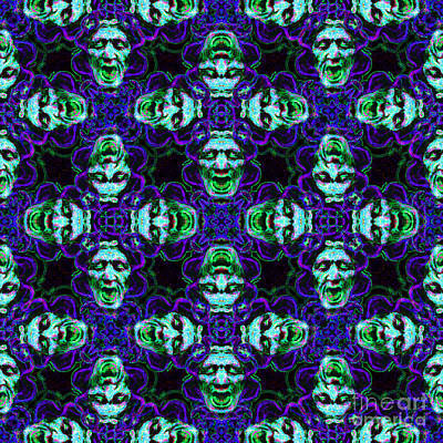 Medusa Abstract 20130131p138 Art Print by Wingsdomain Art and Photography