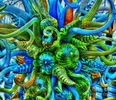 Blown Glass Photograph - Medusa by Debbi Granruth