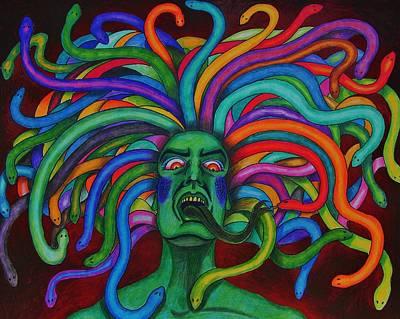 Medusa II Art Print by Jeremy Moore