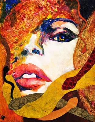 Medusa Art Print by Jill Jacobs