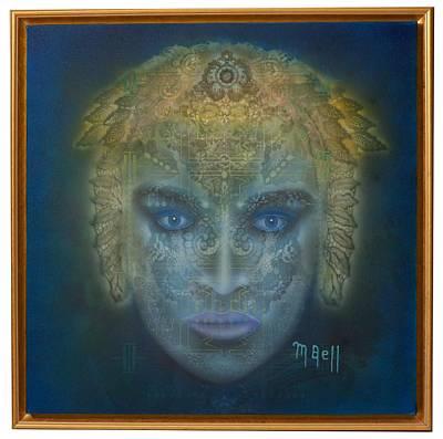 Medusa - Framed Art Print by Mark Bell