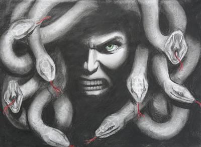 Medusa Original by Megan Wood