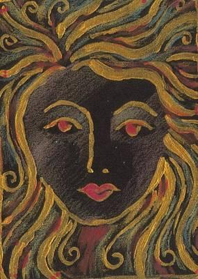 Medusa Mixed Media - Medusa by Nina Shilling