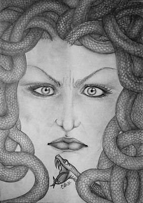 Medusa Print by  Silvia Mariottini