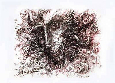Medusa Art Print by Vladimir Petrov