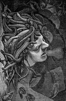 Medusa's Head Art Print by Collection Abecasis
