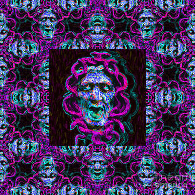 Medusa's Window 20130131m180 Print by Wingsdomain Art and Photography