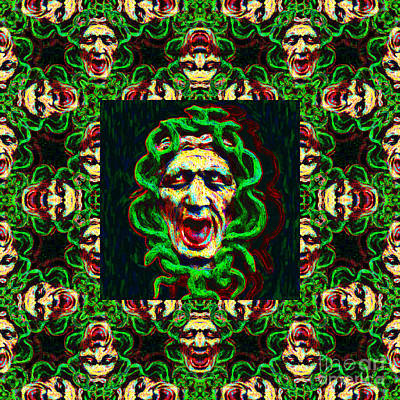 Medusa's Window 20130131p0 Art Print by Wingsdomain Art and Photography