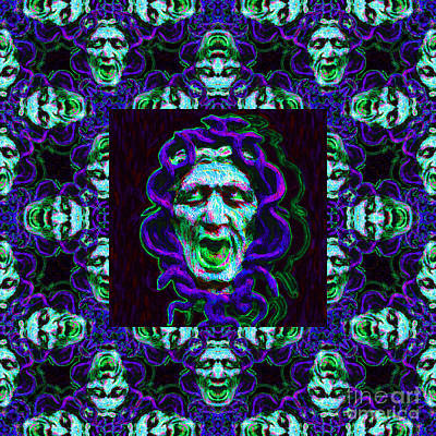Medusa's Window 20130131p138 Art Print by Wingsdomain Art and Photography