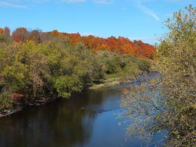 Photograph - Meduxnekeak Autumn by Gene Cyr