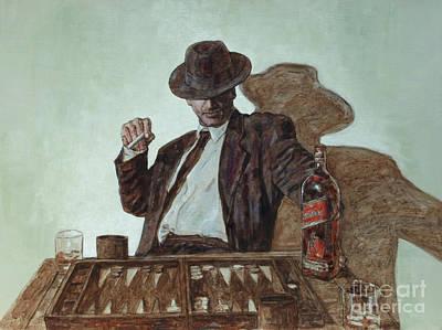 Meet Johnnie Walker Art Print by Theo Michael